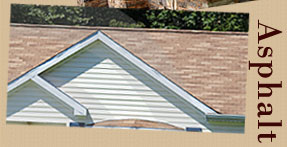 We Offer Asphalt Roofing Options
