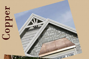 We Offer Copper Roofing Options