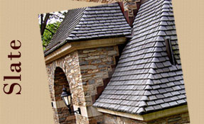 We Offer Slate Roofing Options