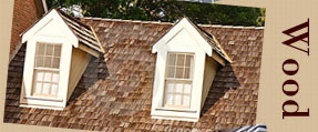 We Offer Wood Roofing Options